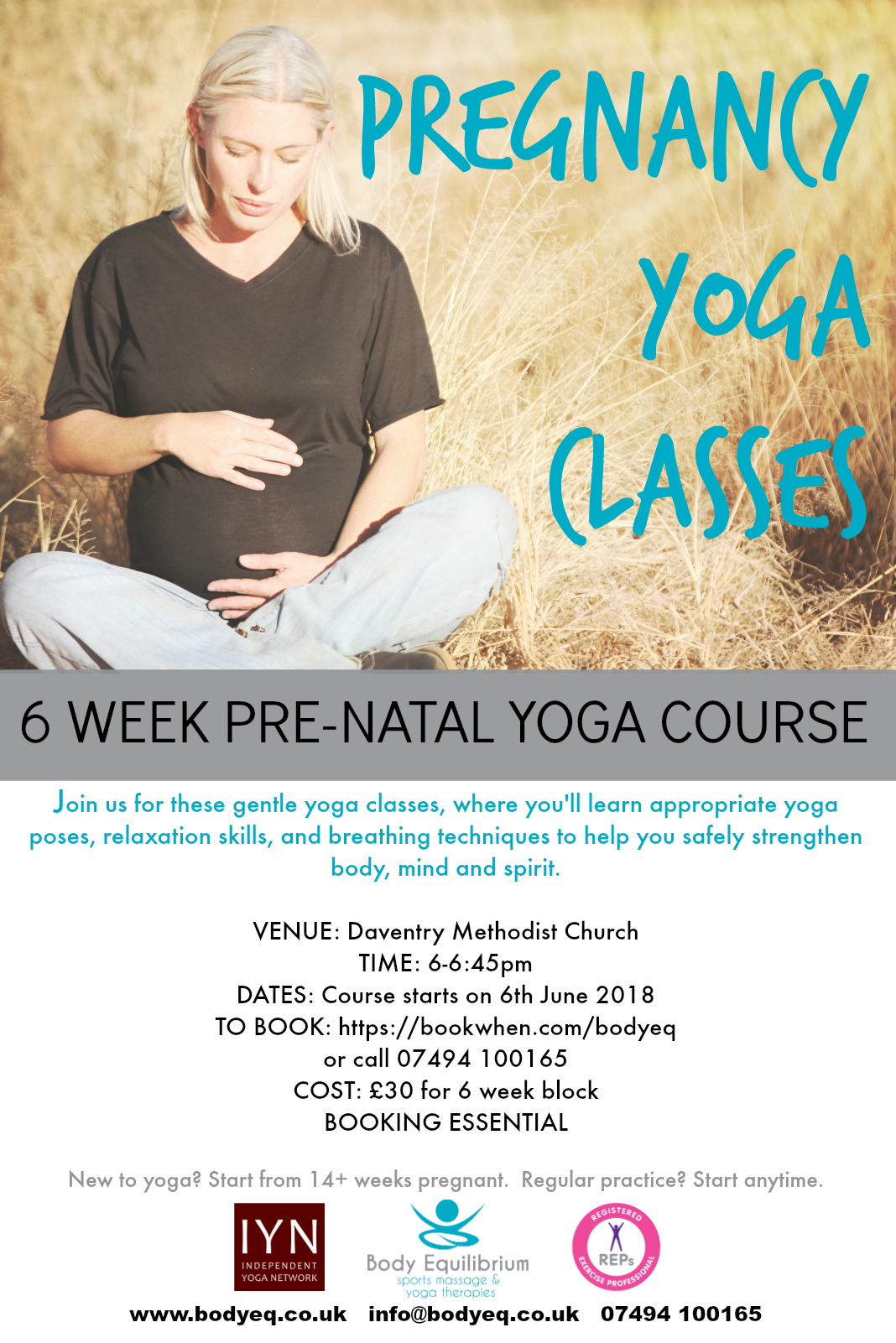 yoga daventry